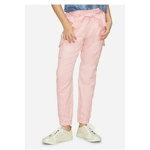Justice pink cargo pants
